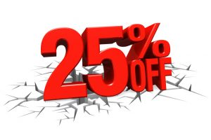 25% Off Discount